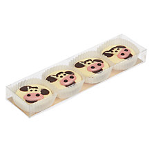 Buy Natalie Chocolates White Chocolate Cows, Pack of 8 Online at johnlewis.com