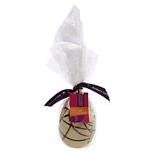 Buy James Chocolates White Chocolate Swirl Egg, 120g Online at johnlewis.com