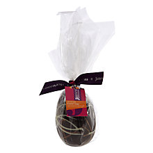 Buy James Chocolates Dark Chocolate Swirl Egg, 120g Online at johnlewis.com