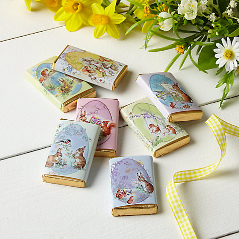 Buy House of Dorchester Milk Chocolate Spring Bunnies, Pack of 7 Online at johnlewis.com