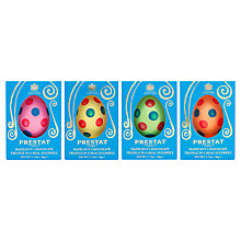 Buy Prestat Praline Polka Dot Milk Chocolate Egg, 50g, Assorted Online at johnlewis.com