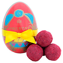 Buy Prestat Paper Egg with Red Velvet Truffles, 75g Online at johnlewis.com