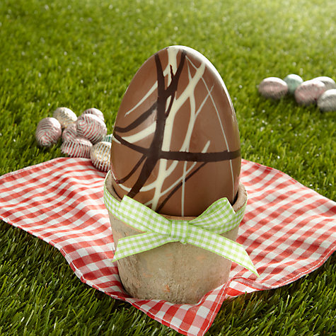 Buy James Chocolates Milk Chocolate Swirl Egg, 120g Online at johnlewis.com
