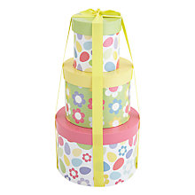 Buy Farhi Three Tiered Easter Hamper, 425g Online at johnlewis.com