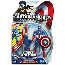 Buy Marvel Captain America Winter Soldier Figure, Assorted Online at johnlewis.com