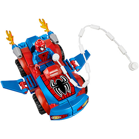 Buy LEGO Juniors Spider-Man Car Pursuit Online at johnlewis.com