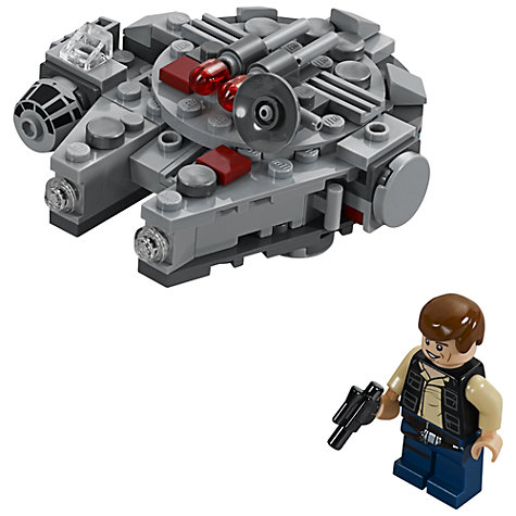 Buy LEGO Star Wars Microfighters Millennium Falcon Online at johnlewis.com