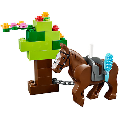 Buy LEGO Juniors Pony Farm Online at johnlewis.com