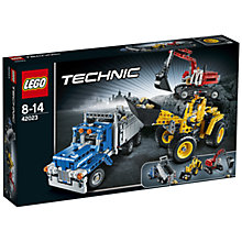Buy LEGO Technic Construction Crew Online at johnlewis.com