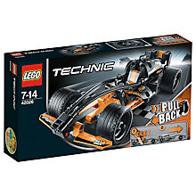 Buy LEGO Technic Black Champion Racer Online at johnlewis.com