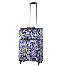 Buy John Lewis Daisychain Print 4-Wheel Cabin Suitcase Online at johnlewis.com