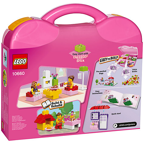 Buy LEGO Juniors House Suitcase Online at johnlewis.com