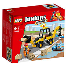 Buy LEGO Juniors Digger Online at johnlewis.com