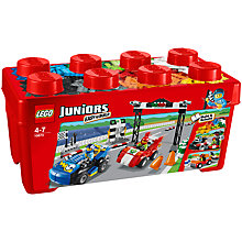 Buy LEGO Juniors Race Car Rally Online at johnlewis.com