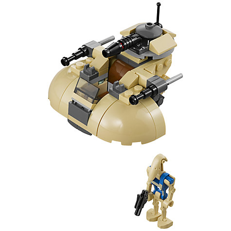 Buy LEGO Star Wars Microfighters AAT Online at johnlewis.com