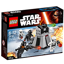 Buy LEGO Star Wars First Order Battle Pack Online at johnlewis.com