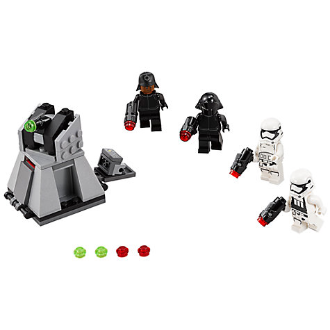 Buy LEGO Star Wars 75132 First Order Battle Pack Online at johnlewis.com