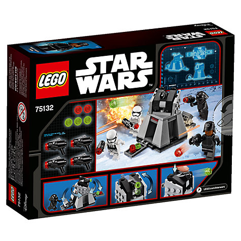 Buy LEGO Star Wars Microfighters Star Destroyer Online at johnlewis.com