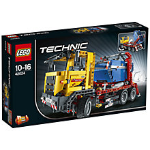 Buy LEGO Technic Container Truck Online at johnlewis.com