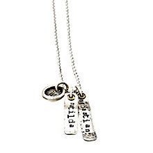 Buy Twisted Typist Personalised Vintage Ribbon Cluster Necklace Online at johnlewis.com