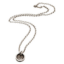 Buy Twisted Typist Personalised Typewriter Necklace, 1 Charm Online at johnlewis.com