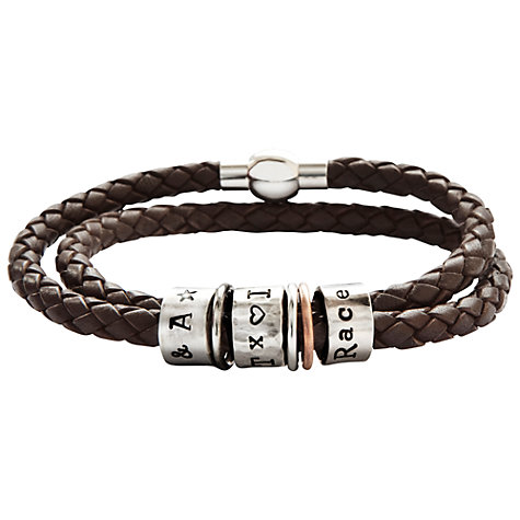 Buy Twisted Typist Story Bead Bracelet, 3 Bead Online at johnlewis.com