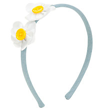 Buy John Lewis Girl Button Daisy Alice Band Online at johnlewis.com