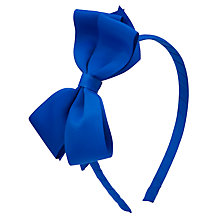 Buy John Lewis Girl Ribbon Bow Alice Band Online at johnlewis.com