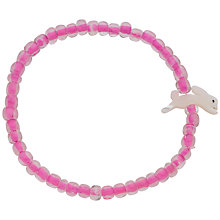 Buy Little Ella Rabbit Charm Bracelet, Pink Online at johnlewis.com