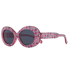 Buy John Lewis Girl Flowered Fruit Sunglasses, Pink Online at johnlewis.com