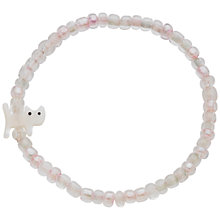 Buy Little Ella Cat Charm Bracelet, Silver Online at johnlewis.com