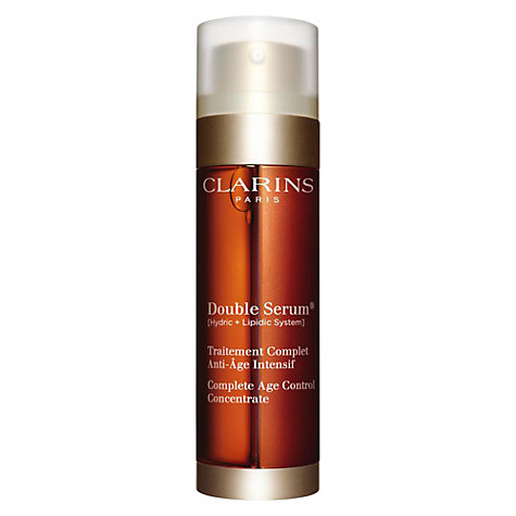 Buy Clarins Double Serum Larger Size, 50ml Online at johnlewis.com