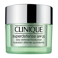 Buy Clinique Super Defense SPF 20 Facial Moisturiser, 50ml Online at johnlewis.com