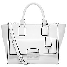 Buy MICHAEL Michael Kors Audrey Leather Large Satchel Handbag Online at johnlewis.com
