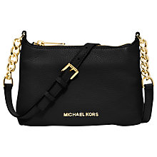 Buy MICHAEL Michael Kors Bedford Chain Strap Across Body Handbag Online at johnlewis.com