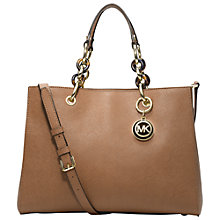 Buy MICHAEL Michael Kors Cynthia Satchel Online at johnlewis.com