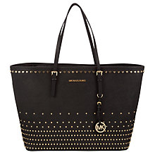 Buy MICHAEL Michael Kors Medium Jet Set Stud Travel Tote Bag Online at johnlewis.com
