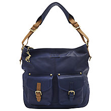 Buy Joules Leycett Leather Hobo Handbag Online at johnlewis.com