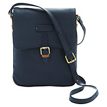 Buy Joules Laverton Leather Across Body Handbag Online at johnlewis.com