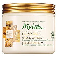 Buy Melvita L'or Bio Illuminating Cream, 175ml Online at johnlewis.com