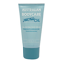 Buy Australian Bodycare Tea Tree Oil Balancing Face Cream, 100ml Online at johnlewis.com