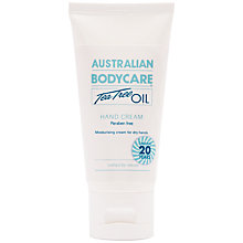 Buy Australian Body Care Tea Tree Oil Hand Cream, 50ml Online at johnlewis.com