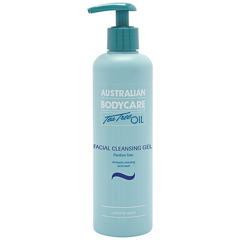 Buy Australian Bodycare Tea Tree Oil Facial Cleansing Gel, 250ml Online at johnlewis.com
