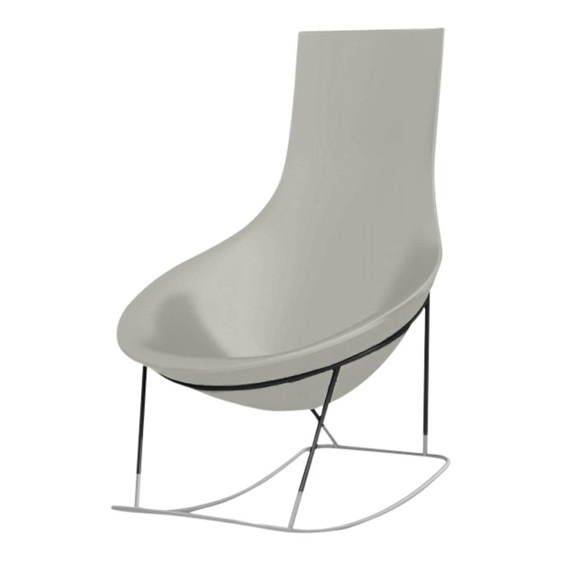 Qui Est Paul? Tom Yam Rocking Chair, Grey