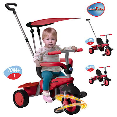 Smart Trike Carnival Trike Red
