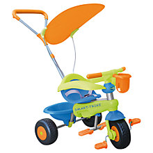 Buy Smart Trike Bonbon Trike, Blue/Orange Online at johnlewis.com