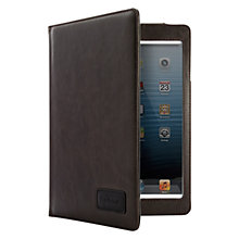 Buy Barbour Leather Style Folio Case for iPad mini with Retina display, Brown Online at johnlewis.com