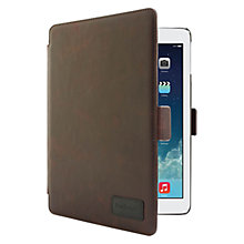 Buy Barbour Leather Style Folio Case for iPad Air, Brown Online at johnlewis.com