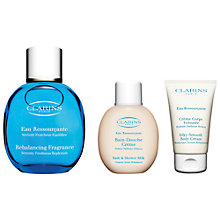 Buy Clarins Eau Ressourçante Gift Set Online at johnlewis.com