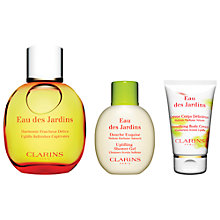 Buy Clarins Eau Des Jardins Gift Set Online at johnlewis.com